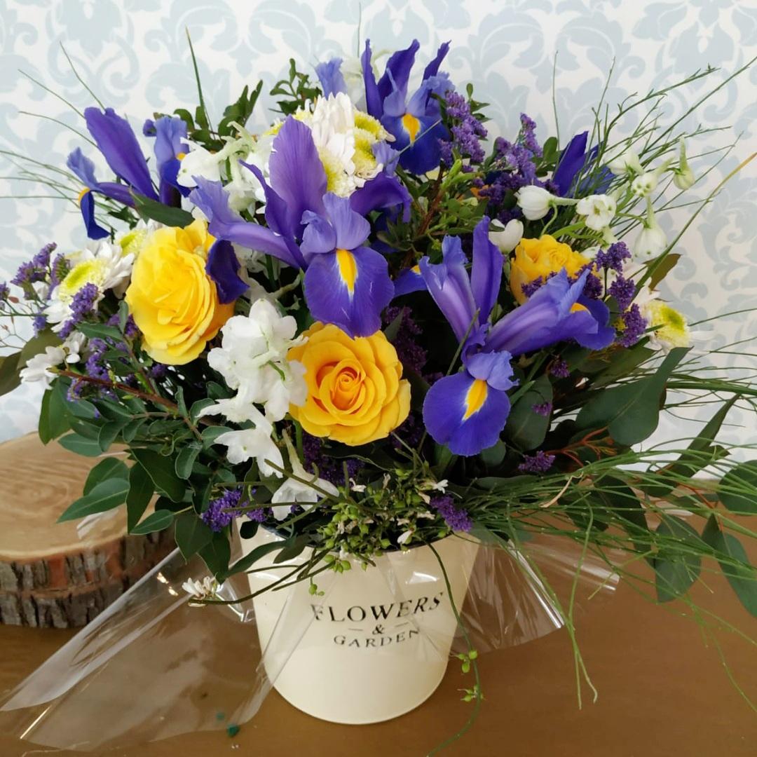דלי פרחים flowers & garden חורפי